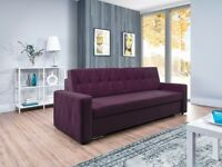 Sofa Bed DIANA Purple