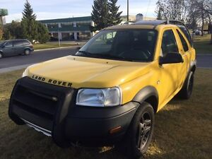2 Door Land Rover Freelander