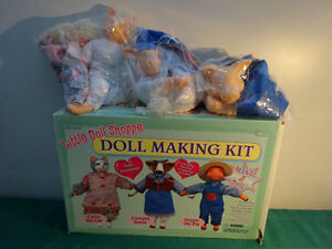 Little Doll Shoppe (Doll Making kit for 3 dolls)