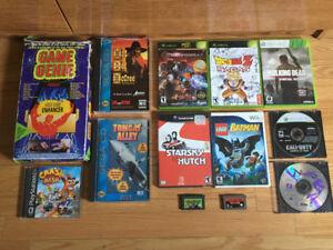 NES Gameboy Gamecube DS PS1 WII Sega CD Saturn Xbox 360