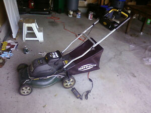 Yardworks 24V Lawn Mower priced to sell