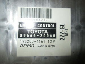 .TOYOTA ECU ENGINE CONTROL UNIT(A/T) 1ZZ-FE 89666-20041 $75.99 C