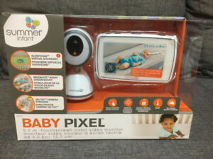 "Baby Monitor with 5"" Color touch screen"