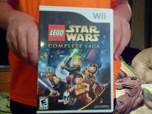 Lego Star Wars the complete saga ...Wii
