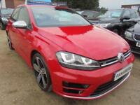 2016 65 VOLKSWAGEN GOLF 2.0 R 5DR 300 BHP FINANCE WITH NO DEPOSIT AND NOTHING TO