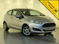 2014 64 FORD FIESTA ZETEC PETROL HATCHBACK AIR CON £0 ROAD TAX SERVICE HISTORY