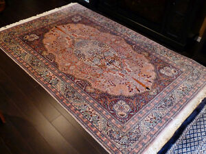 Two rare oriental rugs, estate sale