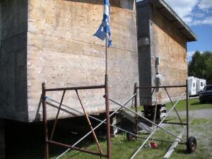 Maison Usinée 24x50, 2 sections, Prête à Déménager
