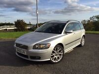 2005 VOLVO V50 SPORT ESTATE WITH STYLING KIT IN GREAT CONDITION