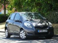 Toyota Yaris 2009 GREY 1.3 + 9 TOYOTA SERVICE STAMPS +2 LADY OWNERS +AUX