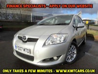 2007 Toyota Auris 2.0D-4D T3 - Over 50MPG Aver - KMT Cars