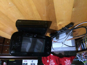 Wii U with 10+ games and accessories