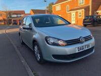 2011 Volkswagen Golf 1.6TDI Match diesel 5dr full service and mot £30 tax year