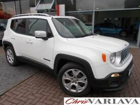 2016 Jeep Renegade M-JET LIMITED Diesel white Manual