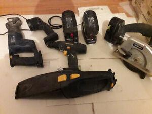 Kit Mastercraft 4 outils  à batterie 18 volts