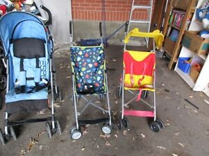 ASSORTED  umblella Strollers ... $10 ... $15 ... $20 ... U PICK
