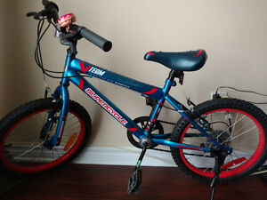 """Boys 18"""" bike for sale in mint condition"""
