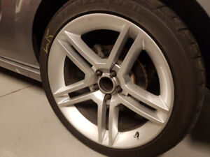 """For Mustang 19"""" RIMS AND HIGH PERFORMANCE TIRES"""