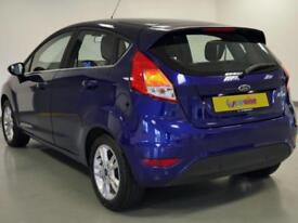 2016 Ford Fiesta 1.6 Zetec 5dr Powershift Petrol blue Automatic