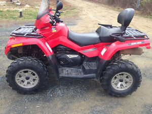 2006 Can-Am Outlander 800 Max 2-up
