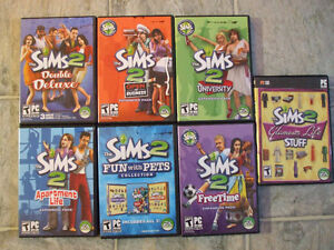 Sims 2 Games for PC for Sale