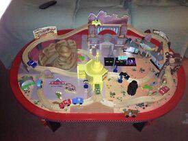 Disney Cars Radiator Springs play table