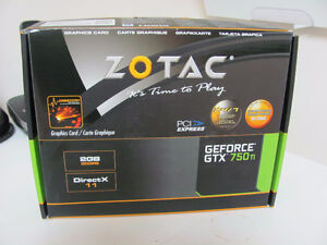 Carte graphique Nvidia GeForce GTX750 Ti 2 Gb de Zotac