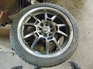 17 INCH MULTI FIT AFTERMARKET WHEELS AND TIRES