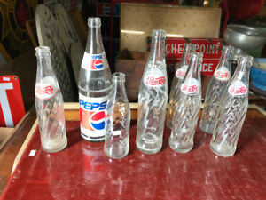 Glass Pepsi Bottle | Find Art, Antiques, Vintage Items and Other