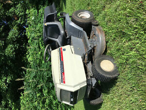 "16hp 42"" ride on lawn mower"