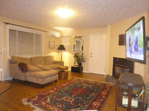 Gorgeous Furnished 2BR with Patio and Grape Arbour