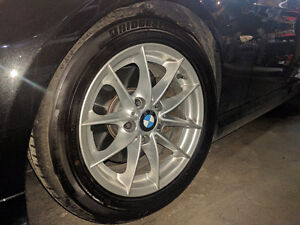 2011 BMW OEM rims New Bridgestone Touranza RFT 16""