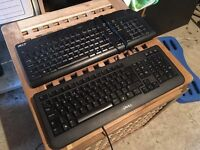 Dell & Acer keyboards x 8 & 2 x Dell mouse