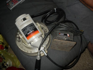 FOR SALE BLACK AND DECKER PALM SANDER,ROTARY TOOL