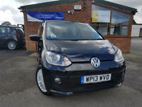 2013 Volkswagen up! 1.0 ( 75ps ) High Up NEW SERVICE HEATING SEATS