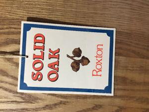 Roxton solid oak table