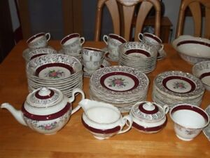 Deluxe Charmain Warranted British Empire Ware vintage dishes
