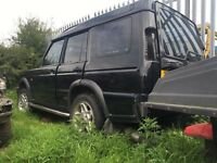 Landrover discovery td5 breaking