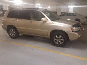 2005 Toyota Highlander - LOTS of recent maintenance $8000 FIRM