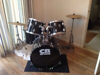 CB Drum Set- Black