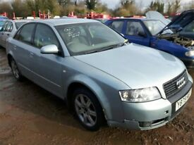 2001 AUDI A4 20V NOW BREAKING FOR PARTS