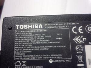 Toshiba laptop AC ADAPTER PA39117U-1ACA output 19V - 3.42A Kitchener / Waterloo Kitchener Area image 1