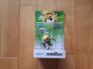 **MINT IN BOX** TOON LINK Amiibo from Super Smash Bros.