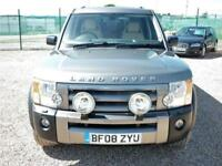 Land Rover Discovery 3 2.7 TDV6 XS 7 SEATER (FREE FUEL + 6 MONTHS PARTS & L