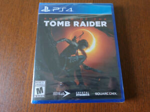 Shadow of the Tomb Raider - PS4 - Brand New