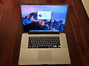 "Awesome 17"" MacBook Pro, 16 GB RAM, 750 GB SSD + 1 TB Hybrid"