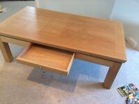 Coffee table light oak