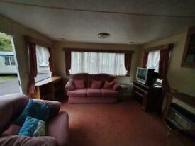 Static caravan bk brookwood 35x12 2001 model free UK delivery.