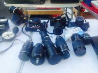 LARGE AMOUNT OV PHOTO EQUIPMENT