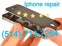 iPhone repair service/ screen replacement/ cracked screen